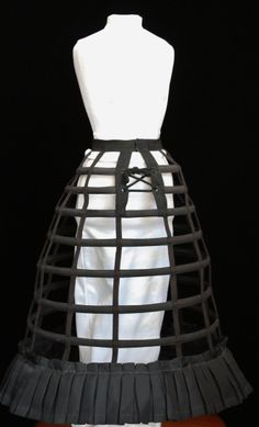 A cage crinoline....obvious why it is called so.