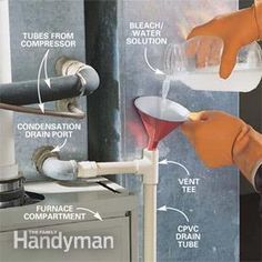 This central air conditioner maintenance guide helps you get lower cooling bills. This central air conditioner maintenance guide helps you get lower cooling bills while staying comfortable in summer. Hvac Maintenance, Home Maintenance Checklist, Garden Maintenance, Duct Cleaning, Cleaning Hacks, Cleaning Solutions, Cleaning Supplies, Clean Air Conditioner, Home Fix