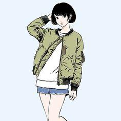 いいね!1,385件、コメント7件 ― 江口寿史 EGUCHI HISASHIさん(@eguchiworks)のInstagramアカウント: 「Feb.2016 drawing practice #illustlation #artwork #bandedessinee #comicart」