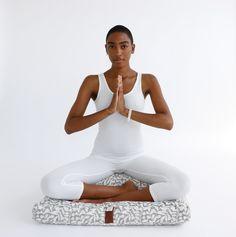 Modern Meditation Cushions, Sacred Space, Conscious Life Shop , Reflection, Black girl meditating , black woman meditating