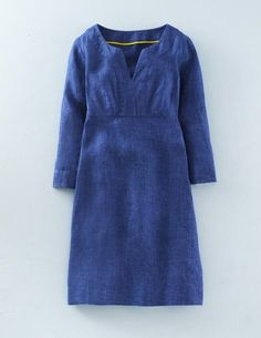 Casual Linen Tunic WH986 Day Dresses at Boden