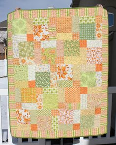 Sunshine Quilt by amy smart, via Flickr