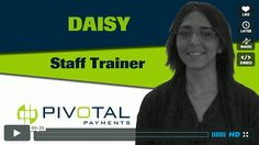 """Daisy, Staff Trainer at Pivotal Payments in today's """"10 Days, 10 Pivotal Experiences"""" Check out the video at http://iampivotal.com/"""