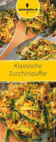 Schnell zubereitete Zucchinipuffer, das optimale Rezept für warme Sommertage.