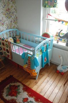 My favorite crib I've ever seen so far.