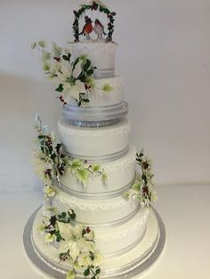 Winter/Christmas wedding cake - Cake by Peter Roberts