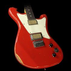 Wild Custom Guitars Wildmaster Electric Guitar Relic Dakota Red