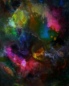 Abstract painting #47 by Ron Matzov.
