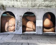 25 Phenomenal Pieces of Street Art That Give a Totally Different View of This World 3d Street Art, Street Art Banksy, Urban Street Art, Best Street Art, Murals Street Art, Amazing Street Art, Mural Art, Street Artists, Amazing Art