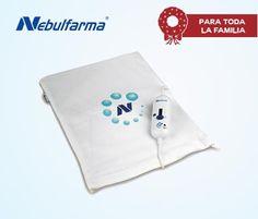 Almohadilla Eléctrica Nebulfarma. El descanso más placentero para tus cervicales y contracciones $27€