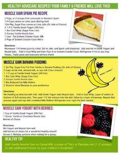 Advocare recipes www.AdvoCareWorx.com