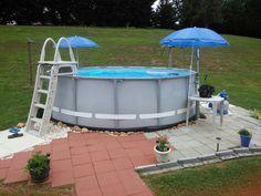 Inexpensive Above Ground Pool White Trash Yard Ftw 99