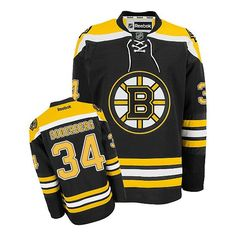 Boston Bruins 34 Carl Soderberg Home Jersey - Black