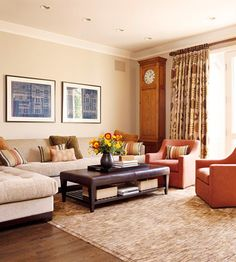 mix of contemporary and traditional