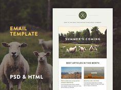 green-village-html-template