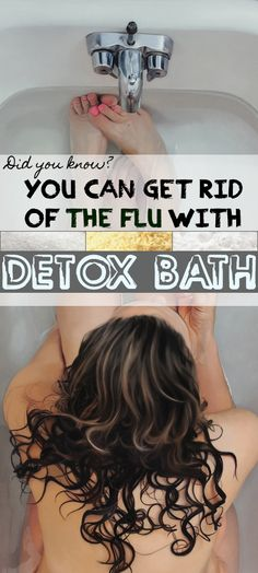 Flu Remedies Catching a cold seems like the most common thing for some people, we're always trying to avoid all the nasty effects like sour throat, stuffy nose, sneezing Cold And Cough Remedies, Flu Remedies, Health Remedies, Herbal Remedies, Detox Bath For Colds, Bath Detox, Health And Beauty Tips, Health And Wellness, Health Tips