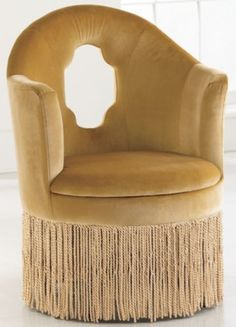 My girl would go crazy for this chair from Seventh Avenue.