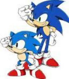 classic n modern Sonics ^-^