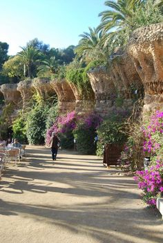 Park Guell, Barcelona. From 'Costa Serena', 2009
