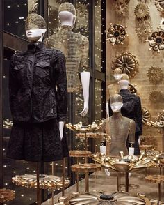 "MONCLER, Faubourg Saint Honere, Paris, France, ""Look around you, all around you Riding on a Petal Copper Wave. Do you like the World around you? Are you ready to behave"", pinned by Ton van der Veer"