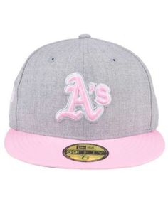 New Era Oakland Athletics Perfect Pastel 59FIFTY Cap - Gray 7 1 2 b63232a9d278