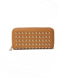 W001 Wallet Studded Camel