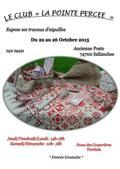 Affiche expo Sallanches
