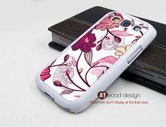 unique red pattern Samsung Galaxy S3 i9300 Case Samsung Galaxy SIII case unique Case design. $14.99, via Etsy.