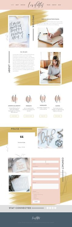 Build a Squarespace website IN TWO DAYS! Site built by Loveletter Studio in Kansas City using Hello Big Idea STUDIO theme.