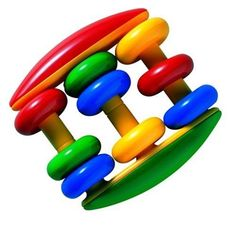 "Abacus Rattle by Reeves. $7.55. 3.7"" x 3.54"" x 1.26"". From the Manufacturer                Rattle and abacus in 1.  There are 3 rows with rings for rattling fun and early counting.                                    Product Description                Rattle and abacus in one! Three rows with rings for rattling fun and early counting."