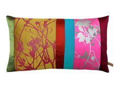 Clarissa Hulse - Meadow Patchwork Cushion #Cushion #Luxury #Homeware