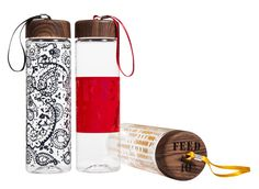 A Sneak Peek at Target's New Do-Good Line With FEED Projects: Water bottles, $13 each (10 meals each)