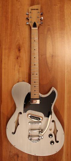 Gronlund Newcomb Guitars. Custom, One of a Kind Handmade Instruments.