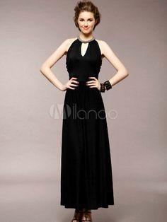 127c2bc10e46 Necklace Detail Dinner Dress -  23.16 on  ClozetteCo Tube Maxi Dresses