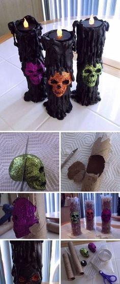 Pin by Tanesha Manning on diy stuff Pinterest Halloween ideas - halloween cheap decorations