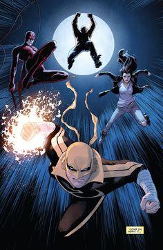Defenders Issue - Read Defenders Issue comic online in high quality Marvel Comics Art, Marvel Comic Universe, Manga Comics, Marvel Cinematic Universe, Comic Books Art, Comic Art, Book Art, Defenders Comics, Iron Fist Marvel