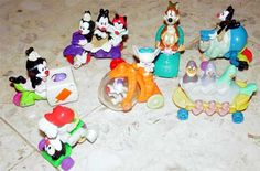 1994 Animaniacs Happy Meal Toys!!