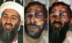 Guardian — May 2, 2011:  An image purporting to show Osama bin Laden's bloody corpse, right, is a composite of two separate images, left and centre. Photograph: twitpic  Also story/image in NYT — May 4:  http://lens.blogs.nytimes.com/2011/05/04/wanted-dead-alive-or-photoshopped-2/?ref=osamabinladen