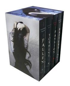 The Fallen Series. Se eu tivesse 15 anos teria adorado a história. Como já passei da fase de romances melodramáticos, achei um saco!