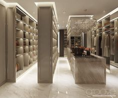 Home Room Design, Dream Home Design, Modern House Design, Home Interior Design, Master Closet Design, Walk In Closet Design, Closet Designs, Dressing Room Design, Mansion Interior