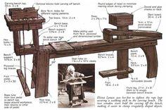 Banco para tallar la piedra | Hacer bricolaje es facilisimo.com