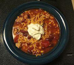 Rachel Knows...: Rachel Knows... Low Calorie Taco Soup!