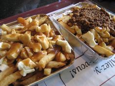 """We have a hunch that people have gone poutine-crazy just because it's called poutine. A French name (it literally means """"mess"""") gives a hint of the exotic — can you imagine a ton of places putting """"gravy cheese fries"""" on their menu? But regardless of the reason, it's cold out and we're ..."""
