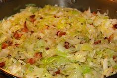 This sauteed cabbage recipe with onions and bacon is the perfect accompaniment to your lucky New Years black eyed peas and cornbread! It is so simple to make that you will add this to your go to side dishes for meals all year long!