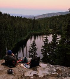 Merritt Lake, east of Stevens Pass, is among Washington high-country destinations that might be better visited in fall than summer