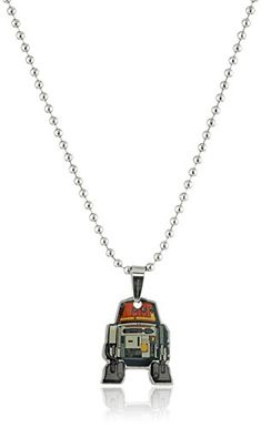 "Star Wars Jewelry Rebel Chopper Chain Pendant Necklace, 16"" Star Wars Jewelry"