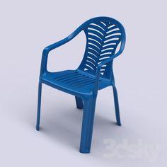 "Plastic Chairs ""Venice"""