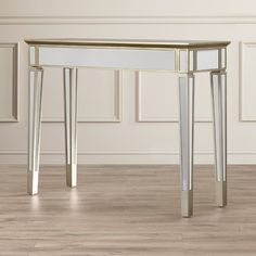 Found it at Wayfair - Margate Mirrored Console Table