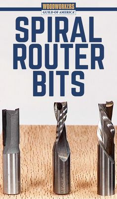 Spiral router bits have numerous uses in your woodworking projects. Master woodworker George Vondriska shows the two types of spiral router bits and the advantages of each over traditional straight bits. A WoodWorkers Guild of America (WWGOA) original video.
