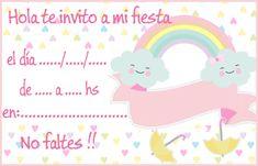 Cloud Party, Girl Birthday, Happy Birthday, Baby Shawer, Ideas Para Fiestas, Art Classroom, Unicorn Party, Christening, Birthdays